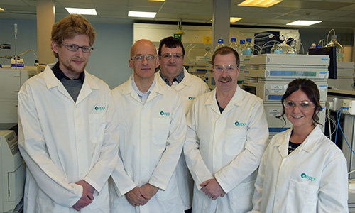 A group photograph of EPP chemists