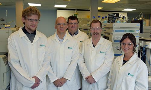 A group photograph of EPP chemists